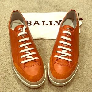 BALLY TRINIDAD SHEEP SNEAKER, RARE...NEVER WORN!!
